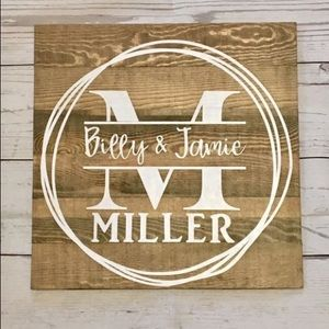 Personalized Name Decor